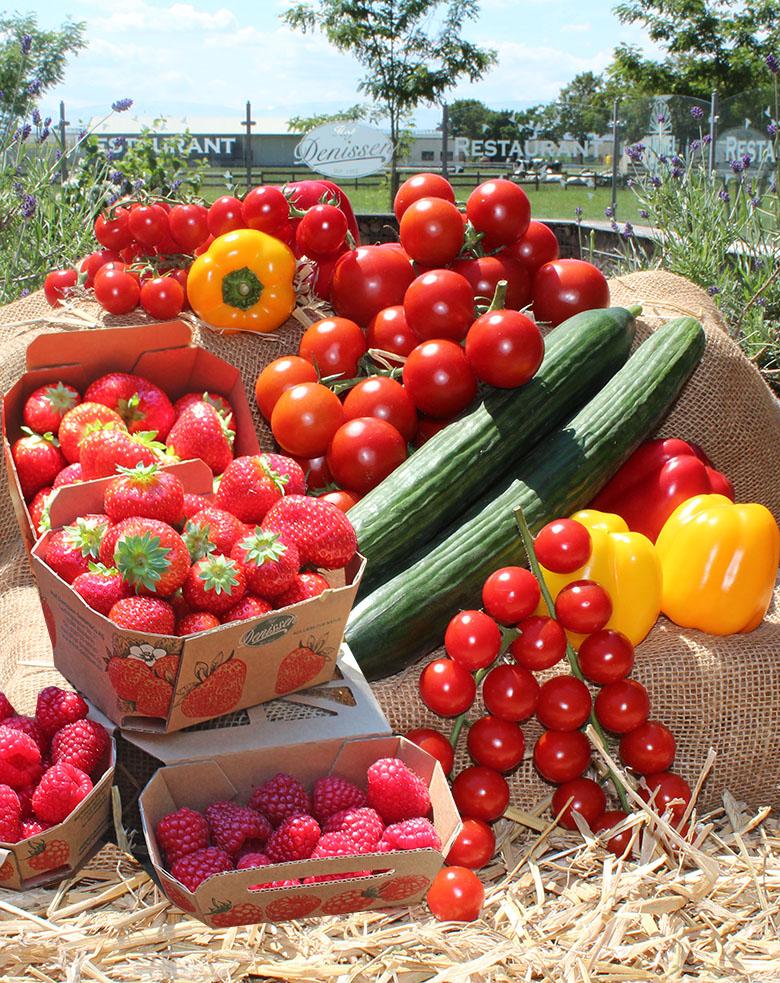 Tomaten-Erdbeeren